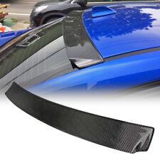 Carbon Fiber SUBARU WRX STI Sedan Sport Rear Window Roof Spoiler 2018