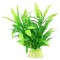 Künstliche Wasserpflanze für Aquarium Aquarium Kunststoff-Dekoration-·