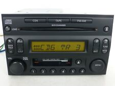 NISSAN OEM AM FM Radio 6 CD DISC CHANGER & TAPE Player HEAD UNIT receiver STEREO