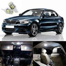 9 x Pure White LED Interior Light Package Deal Kit For BMW 128i 135i 2008- 2013