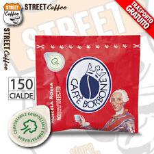150 Cialde Filtro carta Caffè Borbone ESE 44mm Miscela Rossa Red Rosso gratis