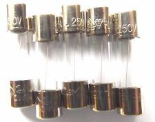 Fuse 2.5a  20mm  Quick Blow F2.5a L 250v Fast    x5pcs