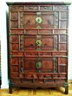 Original ANTIQUE KOREAN 3-SECTION CABINET bought in Korea 1909 One Family Owned
