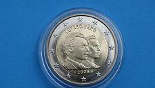 """♣  2 euros Commémorative LUXEMBOURG  2006 """" 25 eme ANNIVERSAIRE  ♣  sous capsule"""