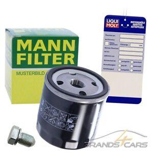 MANN-FILTER ÖLFILTER+ÖLABLASS-SCHRAUBE FÜR VW FOX 1.4 GOLF 4 1J PLUS 5M 1.4 1.6
