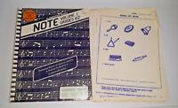 1978 Vol 2 K-2 Elementary Music Duplicating Masters Classroom Book Vintage R