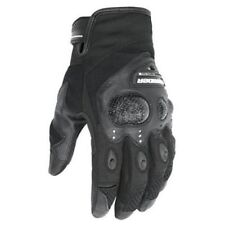 DRIRIDER Fingerless Cruiser Road Motorcycle Gloves Black Size M Medium