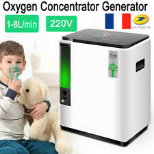1-8LAdjustable Portable Oxygen Concentrator Generator 93% Air Purity Home Care