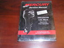 New Mercury 200/225/250/3.0L Work EFI Serv Manual start OT409000 90-884294r01
