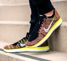NIKE FREE RN FLYKNIT OC Running Trainers Gym - UK 10.5 (EU 45.5) Multi Color