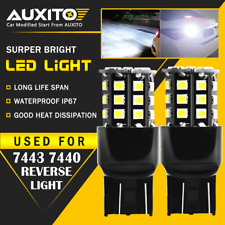 2X 7443 7440 T20 Backup Reverse Light Car Truck 33SMD White High power LED Bulbs