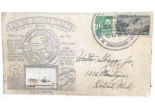 1938 Uss Vestal Envelope Fleet Visits East Coast Sent From Cuba Cachet