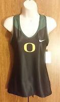 Oregon Ducks Womens Track Tank Top Fitness Dri-Fit Nike Medium
