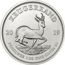 Krugerrand 2019 -  1 once argent silver .999 - South Africa 1 oz