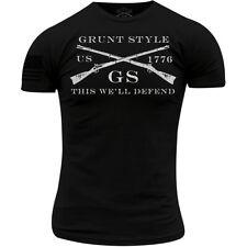 Grunt Style Logo Basic T-Shirt - Black