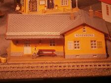 Faller H0 190230  131252 Bahnhof  Rosenberg Bausatz NEU