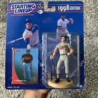 NIB 1998 Kenner Starting Lineup MLB Baltimore Orioles Cal Ripken Jr Baseball Toy
