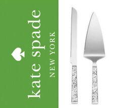 Kate Spade Lenox Simply Sparkling Dessert Set 2 Pc NEW