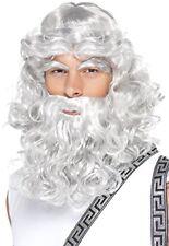 Smiffys Smiffy's - 42301 Parrucca da Zeus con Barba e Sopracciglia (z1g)