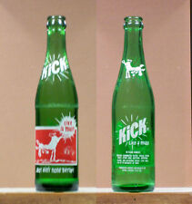 Kick Like A Mule Old ACL 10oz  Soda Bottle Royal Crown Cola Version 1  SB125 x