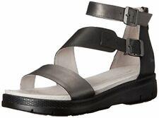 Jambu Women's Cape May Wedge Sandal, Gunmetal Black, 6 M US
