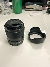 New listing Sony Sel 28mm f/2 Fe Lens