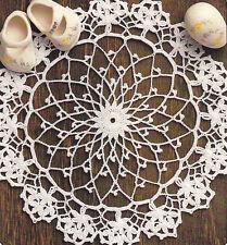 Crochet Pattern ~ Mini Tablecloth ~ Instructions