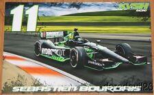 2014 Sebastien Bourdais Hydroxycut Chevy Dallara Indy Car postcard