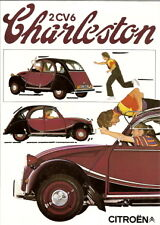 CITROEN 2CV 6 Charleston 1981 Sales Brochure / leaflet