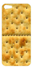 Iphone 5 Skin Sticker Cracker Biscuit front back and Wallpaper Free Postage