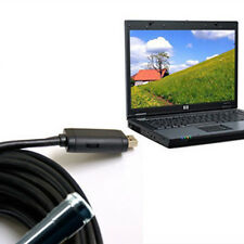 USB Endoscope Inspection 6 LED Borescope Waterproof HD Camera 10m Flexible Cable