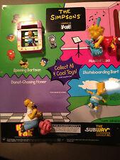 Homer Simpson subway store Promo action figures sheet RARE
