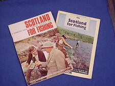 1968 / 1980 Scotland for Fishing - Book Lot