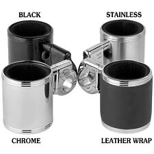 Chrome Kruzer Kaddy Motorcycle ATV Cup Drink Holder for Harley or Metric