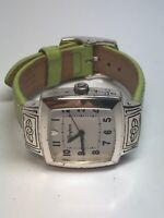 Brighton Ladies Stainless Steel Square Quartz Watch