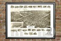 Old Map of Lindenhurst, NY from 1926 - Vintage New York Art, Historic Decor
