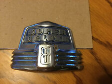 1947 1948 Ford SUPER DELUXE 8 Chrome OEM Emblem Hood 6RA16606-B