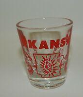 Vintage Arkansas State Razorback Hogs Souvenir Shot Glass