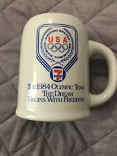 7-11 1984 United States Olympic Team Stein 1980 L.A. Olympic Committee
