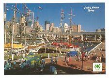 NSW - c1980s POSTCARD -HARBOURSIDE FESTIVAL MARKETPLACE, DARLING HARBOUR, SYDNEY