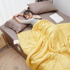 Blanket Soybean Fiber Air Conditioner Quilt Bedspread Sofa Throw Nap Bedcover
