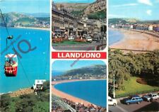 Picture Postcard-:Llandudno (Multiview) Showing Cabin Lift, Cable Car