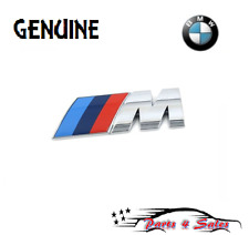 'BMW Genuine M M-Tech Performance E84 E89 F22 F30 F32 F15 X5 Fender  Logo Badge'