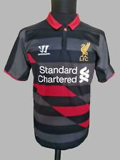 Liverpool Vintage Training Polo Jersey Warrior Football Shirt Soccer SzM
