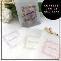 PINK Rose Petal Natural Biodegradable Wedding Confetti Dried Petal Bag PACKET 10