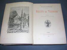 Chasse Marquis G. De Cherville Récits de terroir 1893 ill.  de gravures