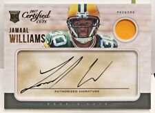 Jamaal Williams 2017 Panini Certified Cuts Patch RC Autograph Auto/299 - PACKERS