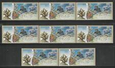 Israel, Shells Sea life, Doarmat No.001 ATM MNH Stamps, Lot - 222