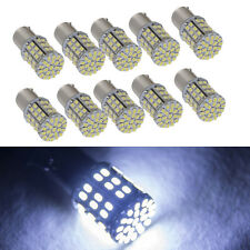 10 X Super White 64 SMD LED 1156 1141 1003 RV Camper Trailer Interior Light Bulb