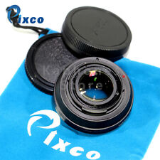 Pixco Speed Booster Focal Reducer Adapter For Canon FD Lens To EOS M M5 M6 M50